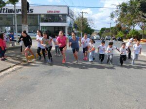 校内マラソン大会(提供写真)