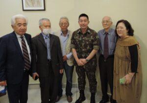 左から4番目がヒロシ氏、その右隣が京野氏
