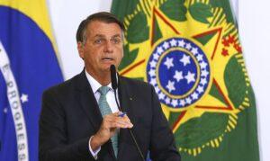 ボルソナロ大統領(Marcelo Camargo/Agencia Brasil)